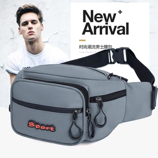 New Oxford Cloth Large Capacity Men's Running Bag Unisex Business Cashier Bag Sports Outdoor Multi-Purpose Satchel