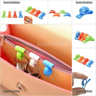 Loss sale 2 Pcs Anti-lost Bag Hooks Convenient Portable Small Objects Holder Key Clips