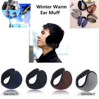 5x Ear Muffs Winter Ear warmers Fleece Earwarmer Men Women Behind the Head