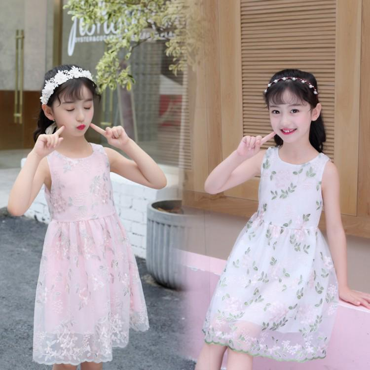 Review 〓Flower Leaf Dress/Children Vest Skirt/Girl Skirt/Girl Dress