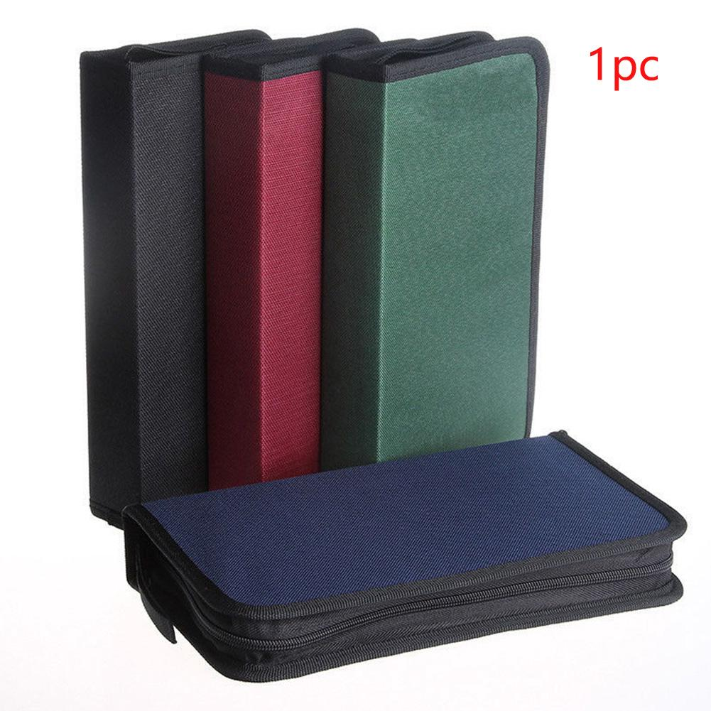Review Accessories DVD Home Large Capacity 80 Discs Multifunctional Storage Oxford Cloth Zipper Opening CD Bag