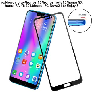 Review Huawei honor play honor 10 honor note10 honor 8X honor 10 lite Y9 2018 honor 7A Y62018 7C Nova2 lite Screen protector