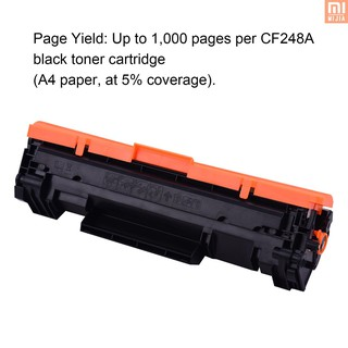 ☆▶NEW Aibecy Black Compatible Toner Cartridge Replacement for HP CF248A 48A Toner with Chip Compatible with HP LaserJet Pro MFP M28a M28w M17a M17w M15a M15w M14a M14w Printer