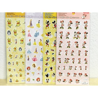 Review Sticker disney japan