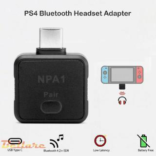 The best On saleღType-C Bluetooth Transmitter Low Latency Headset Audio Adapter for NS PS4