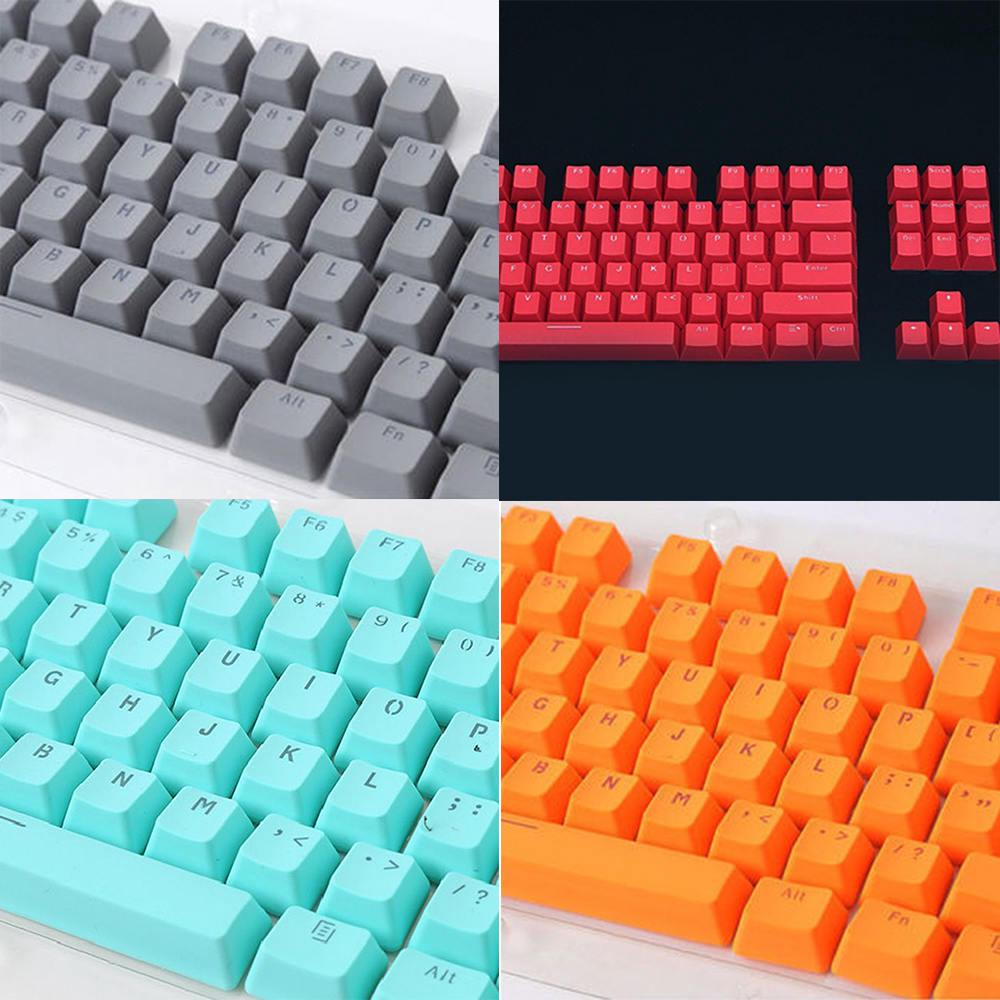 Review 104 Key PBT Backlit Double Shot cebar keycaps DIY