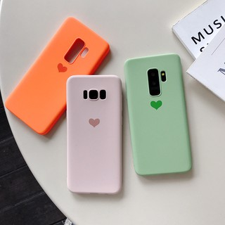 Review Samsung Galaxy S10 Plus Note 8 Note 5 Note Note 3 S9 Plus S8 S7 Edge S6 C9 Pro C7 C5 Casing Love Heart Soft Tpu Case