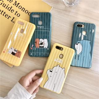 Review We Bare Bears Case เคส VIVO Y19 Y12 Y91 Y95 Y91C S1 Y17 Y15 Y93 Y71 V5 Z5 Z1 S1 V17 PRO U10 U3 U20 Y11 V5lite V5S Y65
