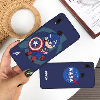 Review Captain America Painted Soft Protector Case For Huawei P30 P20 P10 Lite Pro Nova 5 5i Cartoon Silicone Cover