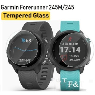 Review พร้อมแล้ว!! ฟิล์มกระจก garmin Forerunner 245 245M Tempered Glass Protective Film Guard For Garmin FR 245M / 245