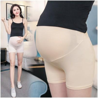 กางเกงซับในคนท้อง เอวสูง  พยุงครรภ์ มีสายปรับขนาดที่เอว