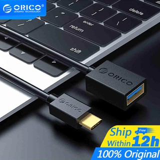 ORICO USB3.0 Extension Cable Type C to USB3.0 Cable Adapter Data Sync Fast Speed Cable with OTG Function For Type C Phone Tablet