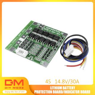Review DIYMORE | 4S 30A 14.8V Li-ion Lithium 18650 Battery BMS PCB Protection Board Cell Balance