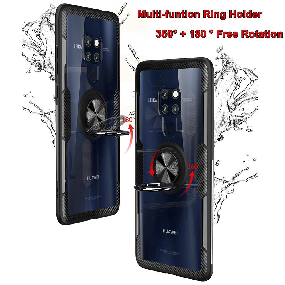 Review ✨ Casing Huawei Mate 20 Lite Mate 20 Pro 20X Honor 8X Max P20 Pro Honor Play P20 Lite Stand Holder Car Ring Phone Case