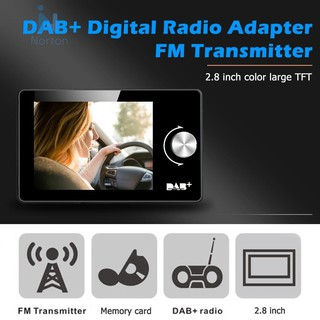 Review Norton Car DAB+ Radio Receiver DAB Tuner FM Transmitter MP3 Player USB Charger