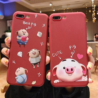 Review For Vivo V5/V5S V5 Lite V7 V9 Y55 Y71 Y81 V11i Cute Pig Soft Phone Casing Case