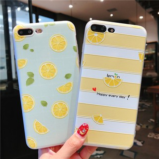 Review เคส Xiaomi Redmi 7A Mi 8 9T A3 Lite Note 8 6 5 Pro 5A 4X 4 S2 7 Case Soft Cute Lemon Fruit TPU Full Cover