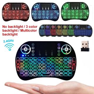 Mini i8 2.4G Wireless Keyboard Portable Touchpad Remote Control  Air Mouse for Android Sma