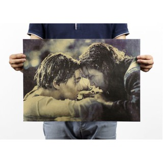 Review 51x35.5cm Titanic Movie Classic Vintage Retro Poster