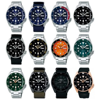 Review Seiko นาฬิกาข้อมือผู้ชาย New Seiko 5 - MADE IN JAPAN (SRPD51K1,SRPD53K1,SRPD55K1,SRPD57K1,SRPD59K1,SRPD61K1,SRPD63K1)