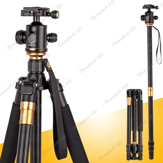 Bangkok life QZSD Q999 Pro Diamond Edition ขาตั้งกล้อง 2 in 1 Tripod & Monopod For DSLR C