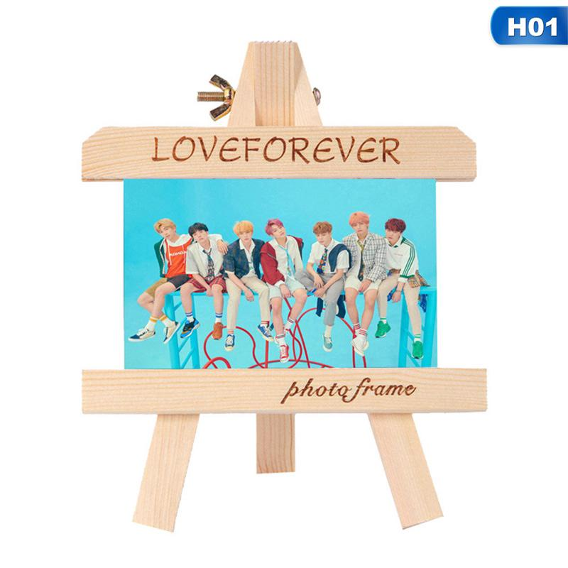 myfriend 1pcKPOP BTS LOVE YOURSELF ух? ANSWER S.E.L.F Small Easel Wooden