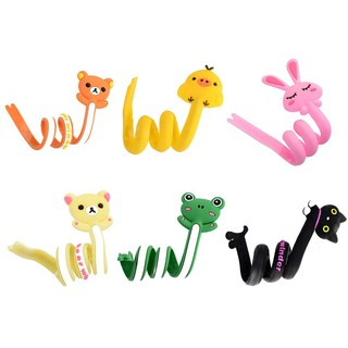 ✧❖Cartoon Strip Animals Bobbin Winder USB Line Headphone Line Long Bobbin W