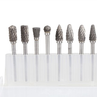 ACT❤10X Solid Carbide Carbide Burrs for Rotary Drill Die Grinder Carving Bit MCP9
