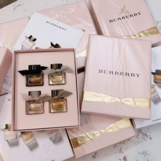 Review My Burberry Miniature Collection 4ชิ้น (หัวแต้ม)