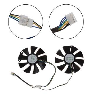 Review GA91S2H DC 12V Cooler Fan Replacement For Zotac GTX 1060 GTX950 GTX 1050Ti Graphics Card Cooling Fan