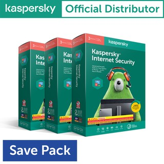 Kaspersky Internet Security 3Device 1Year ( 3 กล่อง )