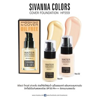 Review water base primer sivanna