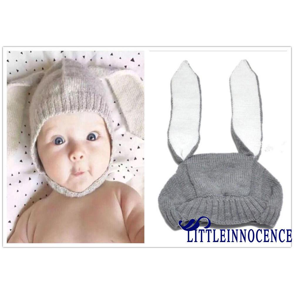 Review xzq-Cute Rabbit Ears Kids Baby Boy Girl Warm Beanie Infant Toddler Knit Hat