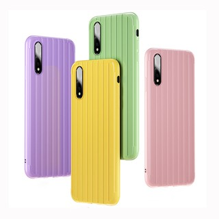 Review Vivo S1 Y7S Z5 Y17 Y12 Y95 Y85 Y93 Y71 Y79 Y66 Y67 Y55 V9 V11i V15 Pro Suitcase Trunk Soft Silicone Phone Cases Cover
