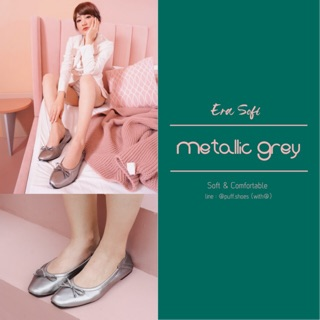 PUFF SHOES : ERA Soft Metallic Grey
