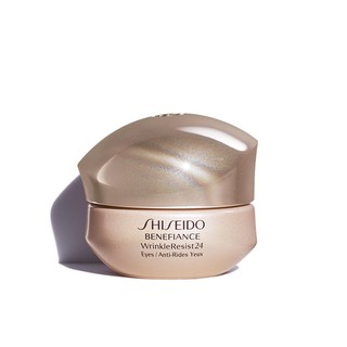 Review ล็อตผลิต 12/2018 Shiseido Benefiance WrinkleResist24 Intensive Eye Contour Cream 15ml