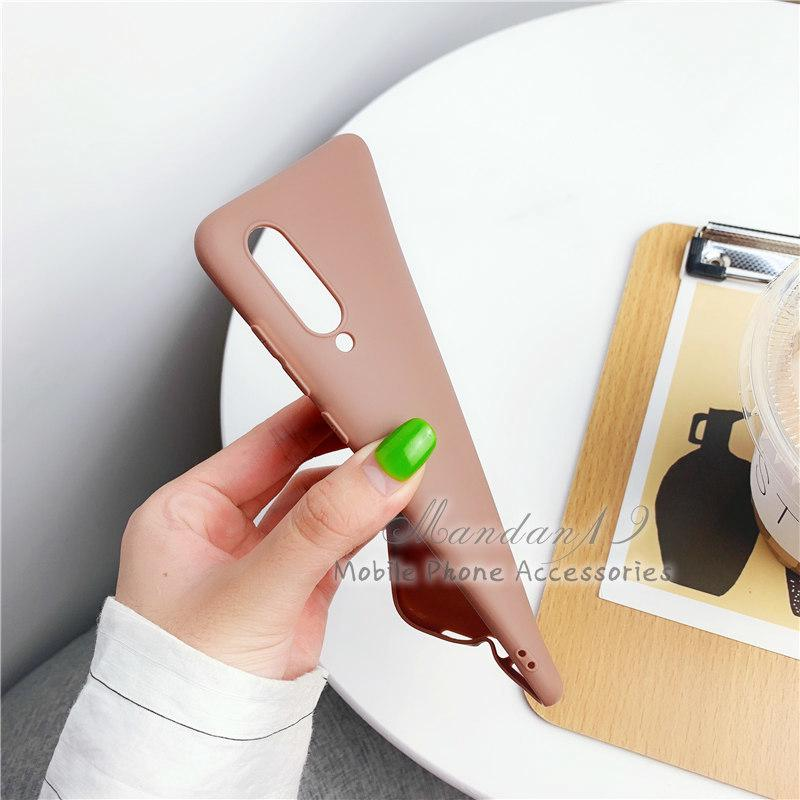 Image # 4 of Review กรณี Casing Xiaomi Redmi S2 Note 6 Pro Note 7 Mi A2 Lite Plain Rubber Matte Candy Soft Case