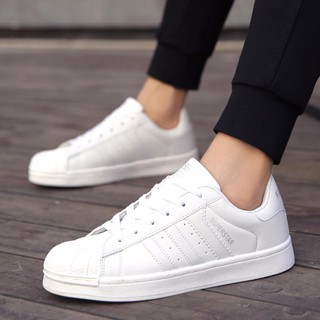 Review รองเท้าผ้าใบ a475 2018 Classic sired addidas Superstar