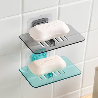 Review DAX Soap Dish Suction Wall Holder Bathroom Shower Cup Sponge Dish Basket Tray