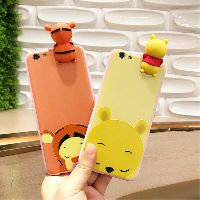 Image # 4 of Review เคส Huawei P9  P9plus P10plus iphone 6 6s 6plus 7plus vivo V5s ฝาหลังทีพียูการ์ตูนปีนจอ Mickey Minnie Mouse Donald Duck