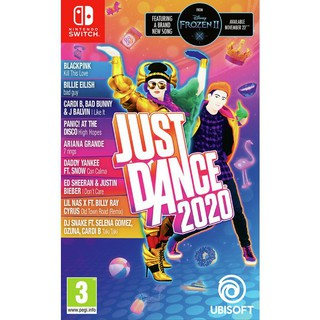 nintendo switch just dance 2020 ( english zone 2 )