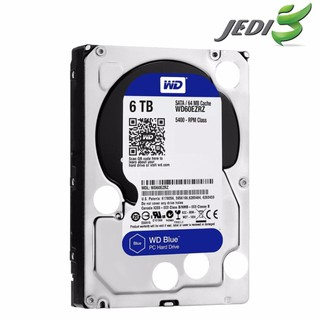 Review WD 6 TB BLUE Hard Drives (WD60EZRZ)