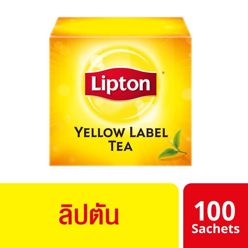 ลิปตัน เครื่องดื่มชาปรุงสำเร็จชนิดซอง 100 ซอง Lipton UNILEVER