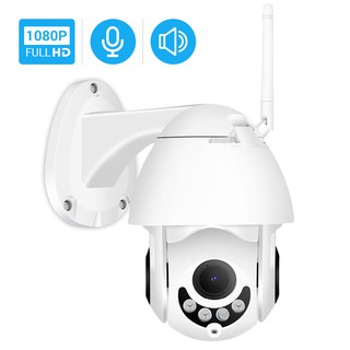 Hamrolte WIFI Camera 1080P Mini Wireless PTZ IP Camera Nightvision Two-Way Audio Motion Detection ICsee IP C