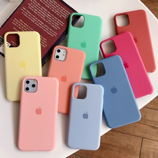 เคสซิลิโคน สำหรับ  iphone 11 max pro 7 8 apple 7P plus case XSMAX XR Xs 6s i5 5se