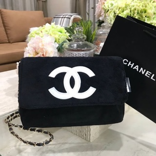 Review พร้อมส่ง‼️ กระเป๋า Chanel แท้💯% Beaute Crossbody Bag With Chain VIP Gift With Purchase (GWP)