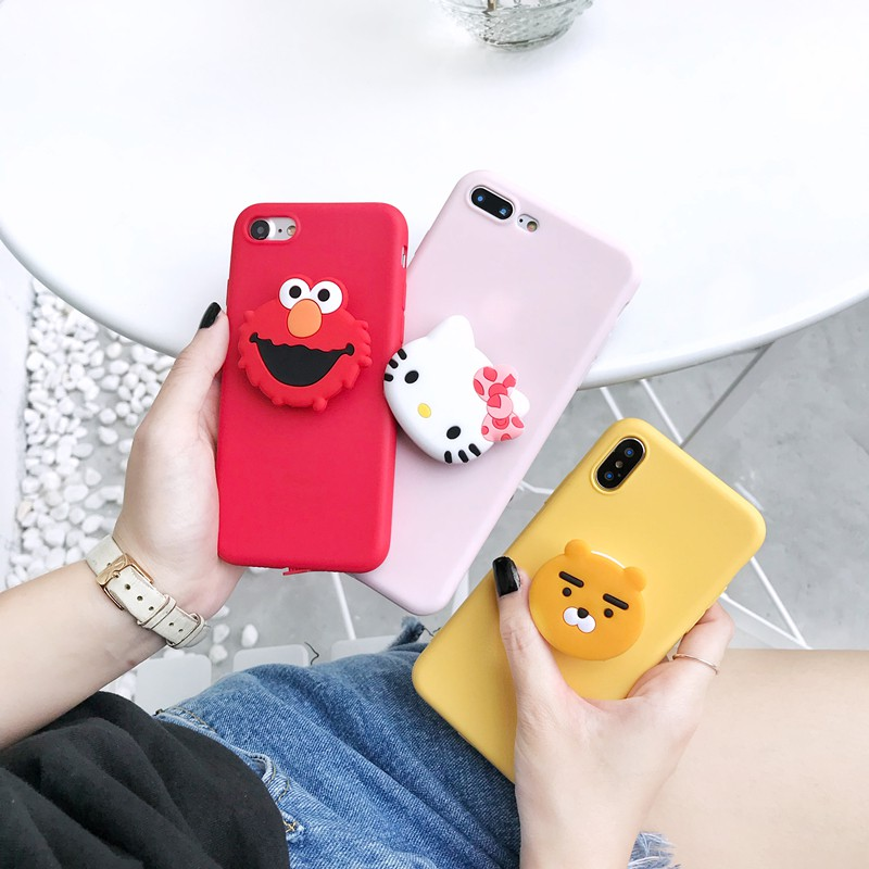 Image # 2 of Review Xiaomi Mi Max 2 3 Mi A1 A2 A3 Lite Mi 6 8 9 SE 9T Pro Lite Mi9 Note 3 Play CC9 CC9E Phone Case Soft Cartoon Stand Cover