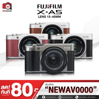 Fujifilm Camera X-A5 kit 15-45 mm. *เมนูไทย  [รับประกัน 1 ปี By Avcentershop]