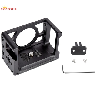 ★★★★★YELANGU RX02 Camera Cage Mount for Sony RX0 II Protective Metal Holder with Adapter 1/4Inch 3/8Inch