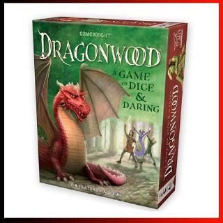 【Ready Stock】Dragonwood A Game of Dice & Daring Board Game Kids Game 2-4 Players Cards Game